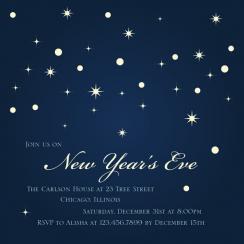 Star Light Party Invitations