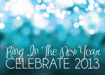 Sparkle in the New Year Party Invitations