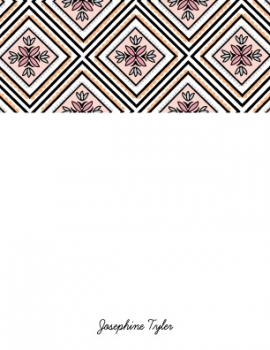 Tribal Triangles Personal Stationery