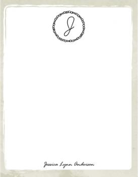 a simple monogram