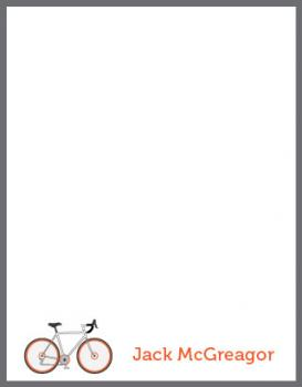Cycle City Personal Stationery