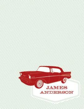 '57 Chevy Personal Stationery