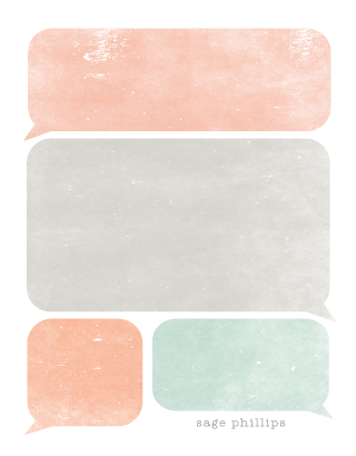 personal stationery - bubbles by SimpleTe Design