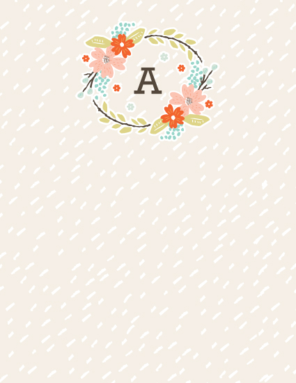 personal stationery - All Good Things by Kristie Kern