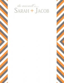Her + Him Personal Stationery