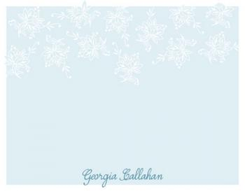 Blue Boudoir Personal Stationery