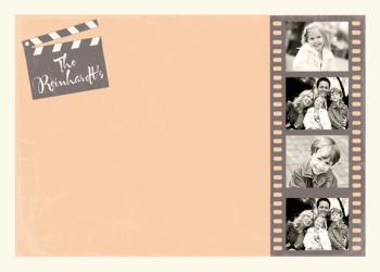Gone Hollywood Personal Stationery