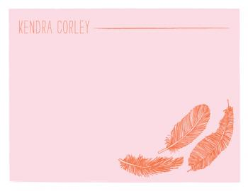 Birds of a Feather Personal Stationery