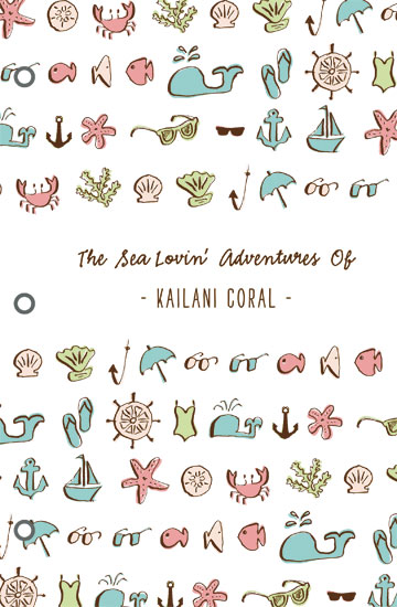 journals - sea lovin' adventures by Waui Design