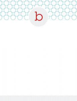 Bubble Monogram