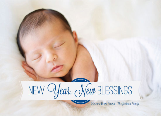 new year's cards - New Blessings by Ashley Ottinger