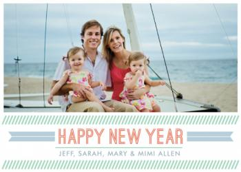 A Banner Year New Year's Cards
