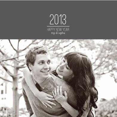 new year's cards - Basic Wishes by Ashley Ottinger