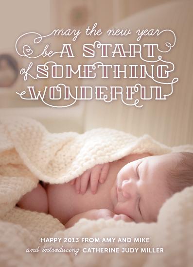 new year's cards - Start Something Wonderful by Dawn Jasper