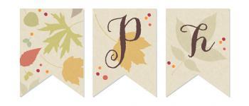 Autumn Joy Party Decor