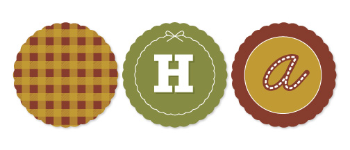 party decor - Holiday Potluck by Smudge Design