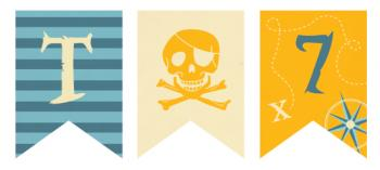 Pirate Party Party Decor