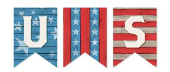 Rustic Patriot Party Decor