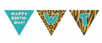 Happy Birthday Wild Thing Party Decor
