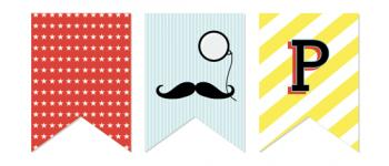 Moustache Bash Party Decor