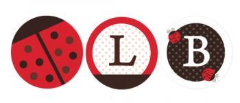Lady Bug and Polka Dots