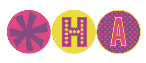 party decor - hoopla by Marabou Design