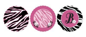 Zebra Stripes and Pink