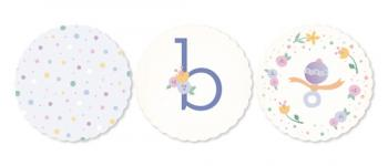 Sweet Baby Florals Party Decor