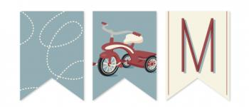 Ride On Over Banner Party Decor