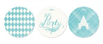 Turquoise Winter Party Decor