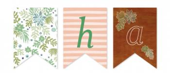 Woodsy Florals Party Decor