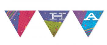 Dotted Color Block Party Decor