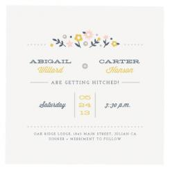 Countryside Florals Wedding Invitations