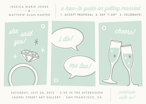 wedding invitations - How-To Guide by Amber Barkley