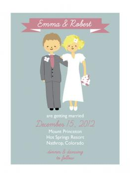 So In Love Wedding Invitations