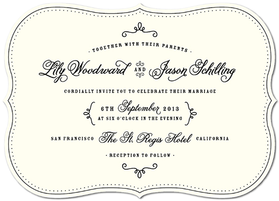wedding invitations - One Fine Day by Sarah Curry