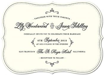 One Fine Day Wedding Invitations
