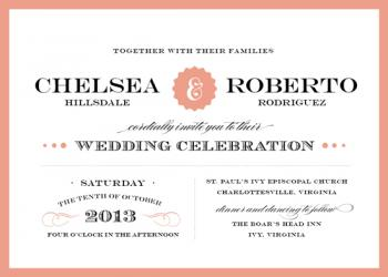 Eloquence Wedding Invitations