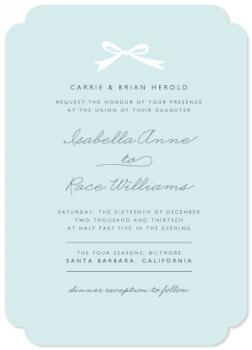 Santa Barbara Wedding Invitations