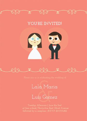 wedding invitations - Elegancia by Lala Watkins