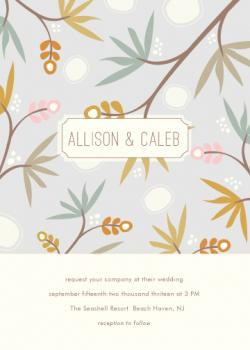 Tropics Wedding Invitations