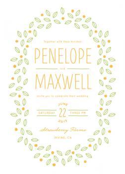 Sweet Berries Wedding Invitations