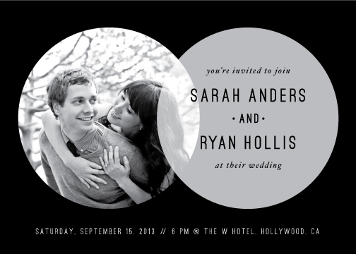 wedding invitations - Hollywood love story by Stacey Meacham