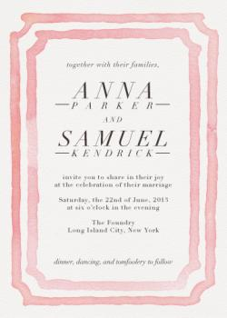 Gallery Opening Wedding Invitations