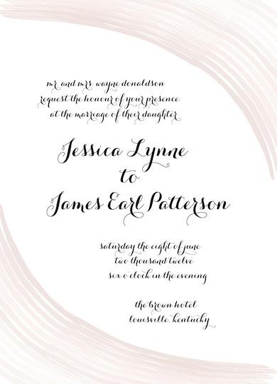 wedding invitations - Twist on Classic by Brittany Warren