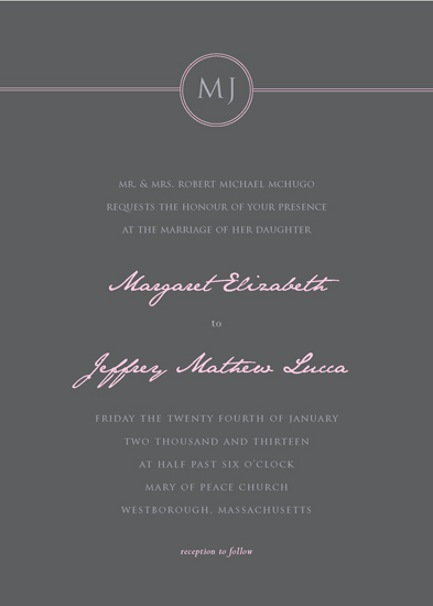 wedding invitations - Sweet Affair by Ana Gonzalez