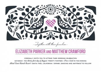 Under the Bough Wedding Invitations