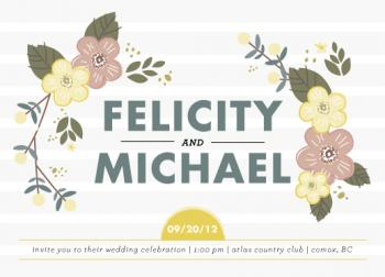 Felicity Wedding Invitations