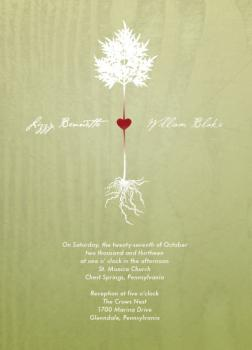 Love Rooted Wedding Invitations