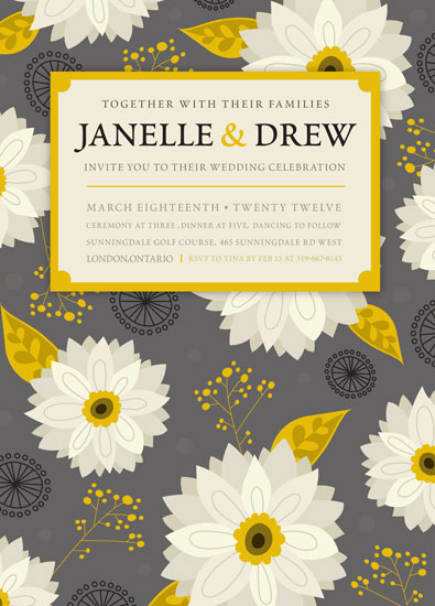 wedding invitations - Elegance by Danielle Hartgers